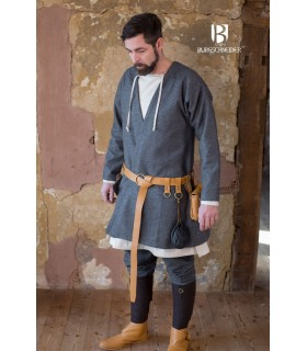 Tunic Medieval Loki gray long sleeve