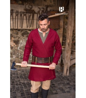 Tunic Medieval Loki red long sleeve