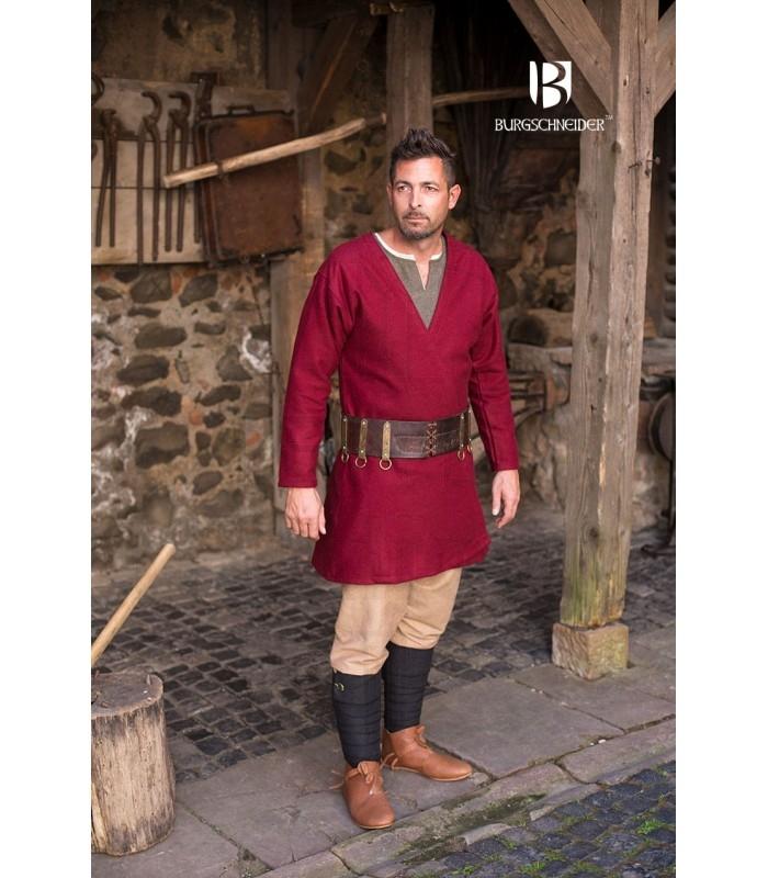 21937382bbbbb Tunic Medieval Loki red long sleeve