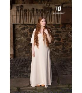 Tunic Medieval Cream Short Sleeve