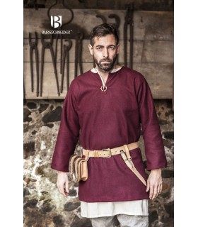 Tunic medieval Lodin, red