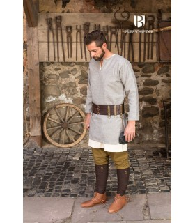 Tunic medieval Lodin, grey