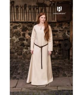 Tunic Medieval Cream Long Sleeve