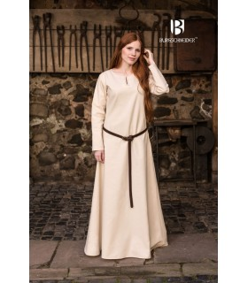 Tunic Medieval Cream Long Sleeve