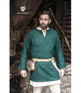 Tunic medieval Lodin, green