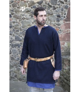 Tunic medieval Lodin, blue