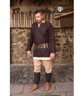 Tunic medieval Lodin, brown
