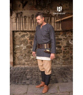 Tunic medieval Lodin, dark grey