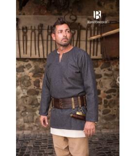 Tunic medieval Lodin, dark grey