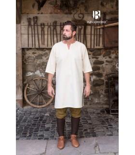 Tunic Medieval Lofar, Cream