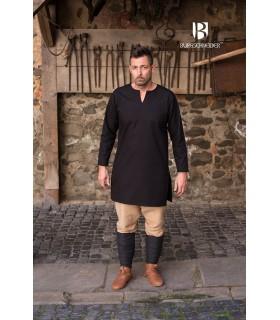 Tunic Medieval Leif, black