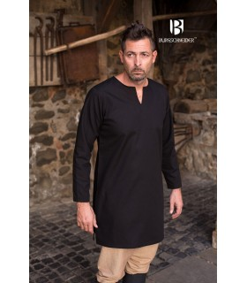 Tunic Medieval Leif, black