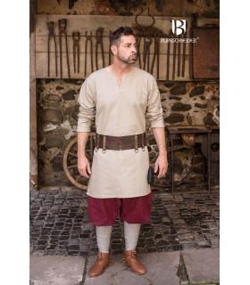 Tunic Medieval Leif, cream