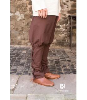 Pants medieval Wigbold, brown