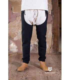 Pants medieval Brandolf, black