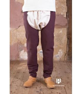 Pants medieval Brandolf, brown