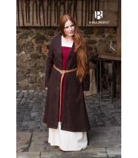 Brial Medieval Aslaug Brown Wool