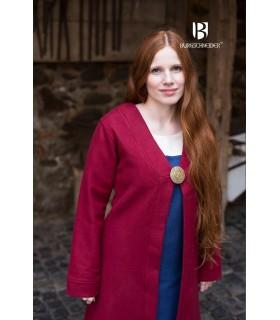 Brial Medieval Aslaug Red Wool