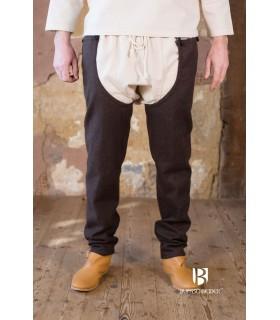 Legs wool Bernulf, brown