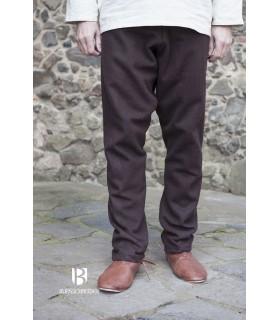 Pants medieval Fenris, brown