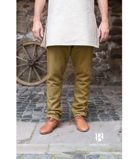 Pants medieval Fenris, mustard