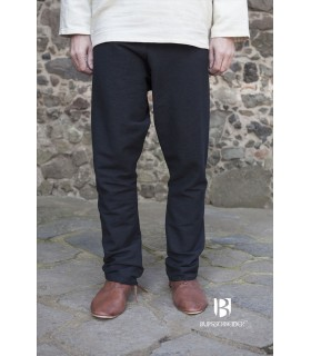 Pants medieval Ragnar, black