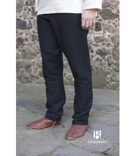 Pants medieval Ragnar, black