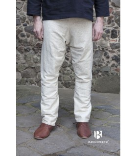 Pants medieval Ragnar, cream
