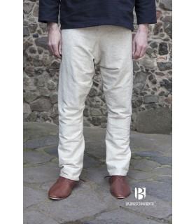 Pants medieval Ragnar, cream