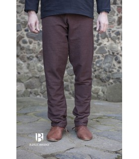 Pants medieval Ragnar, dark brown