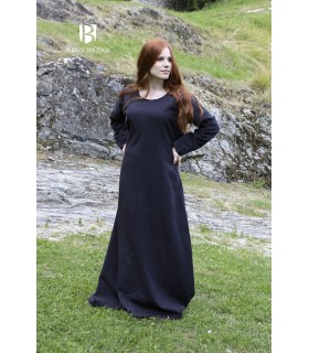 Tunic medieval Freya, black