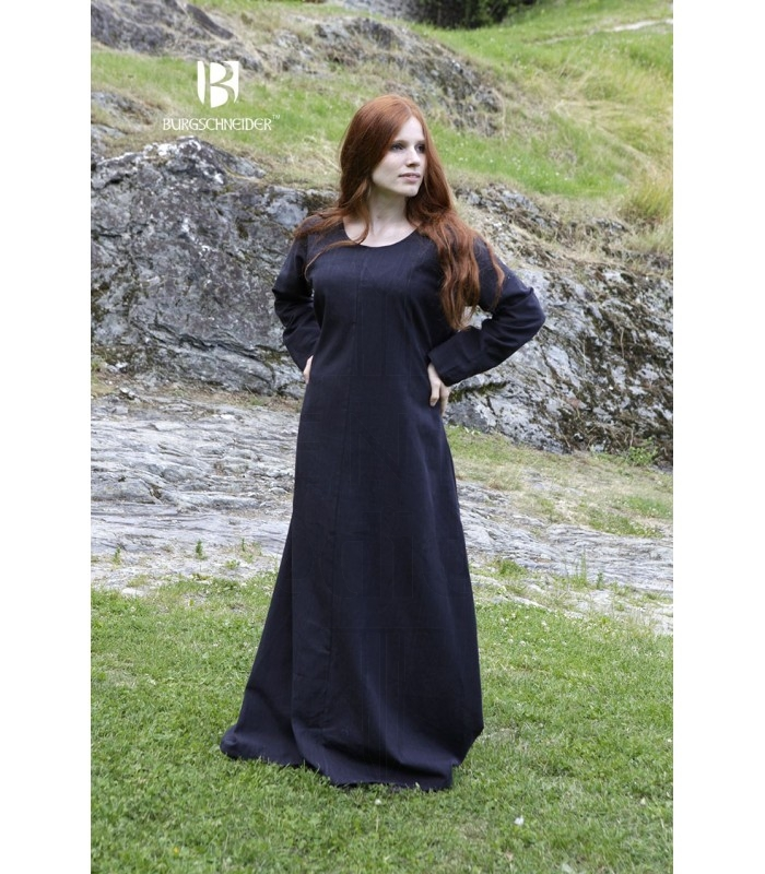 987bc5e930040 Tunic medieval Freya, black. Tunics - Dresses women - Garments.