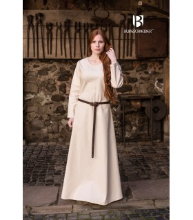 Tunic medieval Freya, cream