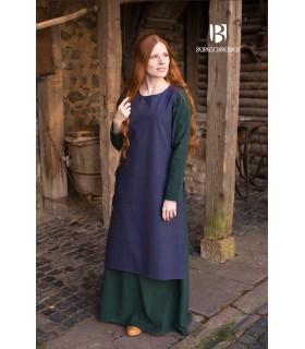 Sobrevesta Medieval Woman Haithabu Blue