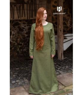 Tunic medieval Freya, green