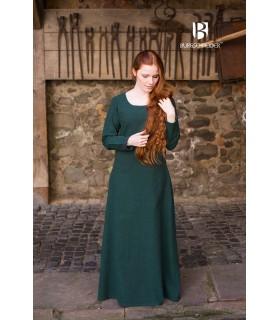 Tunic medieval Freya, dark green