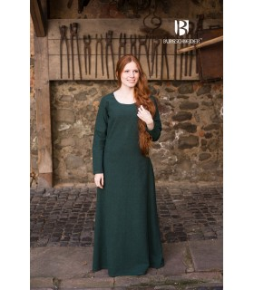 Tunic medieval Freya, dark green