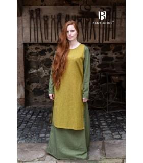 Sobrevesta Medieval Woman Haithabu Mustard