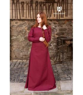 Tunic medieval Freya, bordeaux