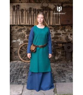 Tunic medieval Freya, blue