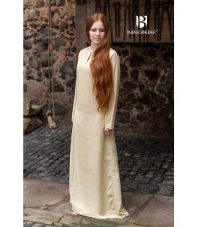 Tunic medieval summer Elisa, cream