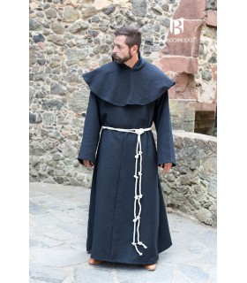 Medieval monk costume Benediktus, black