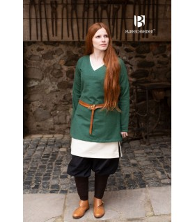 Tunic Medieval Frekja Green