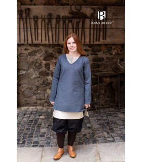 Tunic Medieval Frekja Bluish-Gray