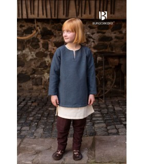 Tunic medieval for children, Eriksson gray