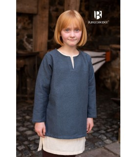 Tunic medieval for children, Eriksson gray