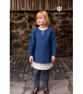 Tunic medieval for children, Eriksson blue
