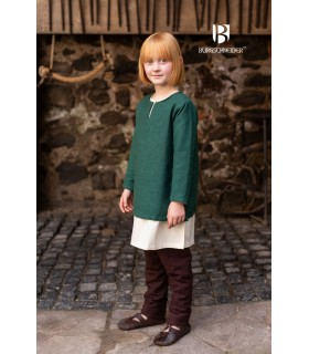 Tunic medieval for children, Eriksson green