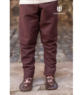 Pants medieval child Ragnarsson, brown