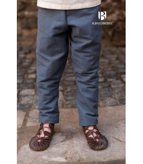 Pants medieval child Ragnarsson, grey